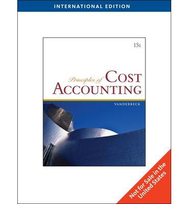 244142550 principles of cost accounting The managerial and cost accounting unit includes chapters for the introduction  to managerial accounting, cost-volume-profit and business scalability, job.