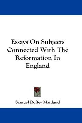 Reformation of england essay