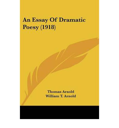 essay on dramatic poesy by dryden