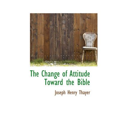The change of attitudes towards the