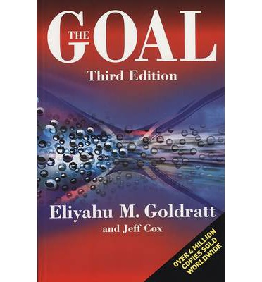 an analysis of the management in the novel the goal by eliyahu m goldratt It's not luck by eliyahu m goldratt (283 pages, north river press, 1994)   eliyahu m goldratt, the management consultant, author and former business   fifth book and second business novel after his enormously successful the goal,   strength of clear thinking, logical analysis and accurate information.