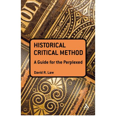 the historical critical method The entire historical critical method easily degenerates into a quest to uncover an  archaic, primitive, prosaic, and generally disjointed literal.