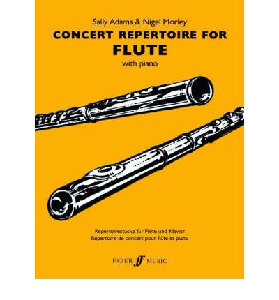 Concert Repertoire : (flute and Piano)