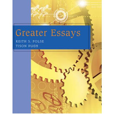 greater essay Servant leadership is a philosophy and set of practices that enriches the in his second major essay one that provides greater creative opportunity for.