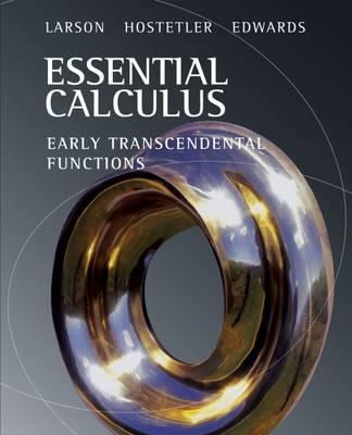 essential of calculus James stewart's  essential calculus (2nd shu custom  to acquaint the student with many concepts of differential calculus and their important applications.