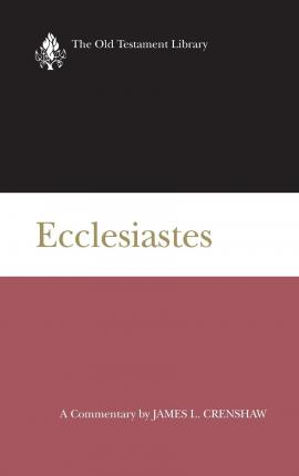a literary analysis of ecclesiastes Biblicaltrainingorg   ecclesiastes is wisdom literature in regard to kind of a big picture of life does it have meaning or not plenty of people do not think there is much meaning to life.