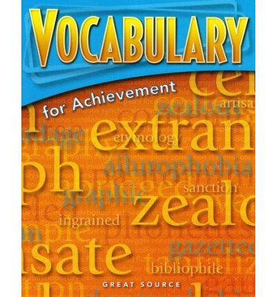 Great Source Vocabulary for Achievement