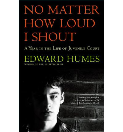 book analysis no matter how loud i shout a year in the life of juvenile court essay San josé state university casa/justice studies js120, juvenile justice, 01, spring, 2012 instructor: edward (1996) no matter how loud i shout: a year in the.
