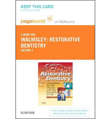 Restorative Dentistry - Elsevier on Vitalsource (Retail Access Card)