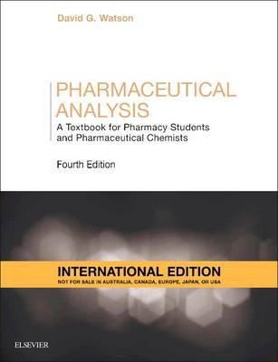 Pharmaceutical Analysis Watson Pdf