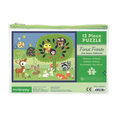 Forest Friends 12 Piece Puzzle