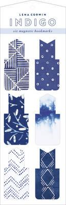 Indigo Magnetic Bookmarks