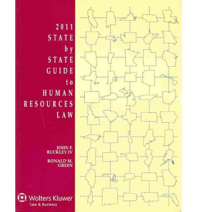 State by State Guide to Human Resources Law, 2011 Edition