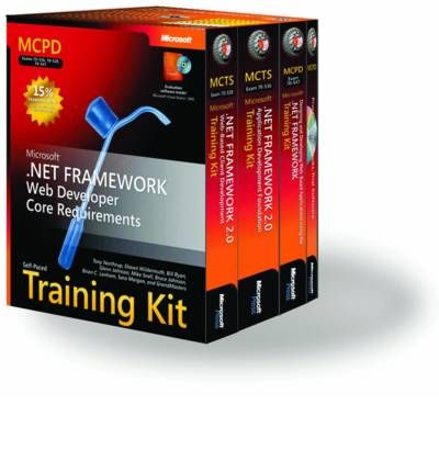 MCPD Self-paced Training Kit (Exam 70-536, 70-528, 70-547)