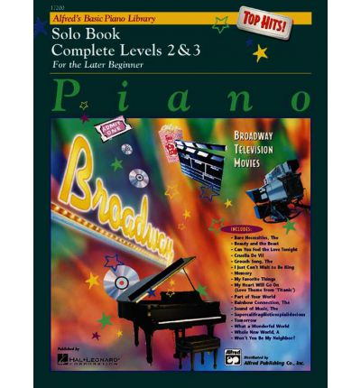 Alfred's Basic Piano Library Top Hits! Solo Book Complete, Bk 2 & 3
