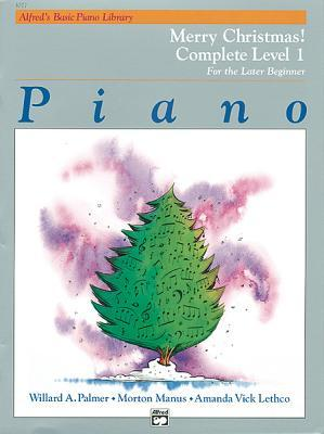 Alfred's Basic Piano Library Merry Christmas! Complete, Bk 1