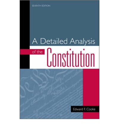 an analysis of mexican constitution This constitution is an expression of the mexican people's will to create a  for  the exercise and interpretation of the right to access public information federal.