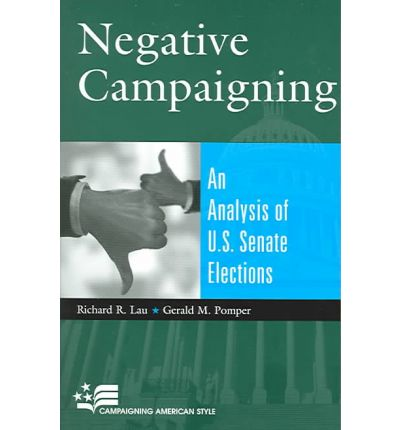 """negative political campaigning For 20 years political scientists have investigated whether negative campaign ads, those that criticize the opponent, are more effective than positive ads, which extol the sponsoring candidate yet the jury is out on whether """"going negative"""" pays off."""