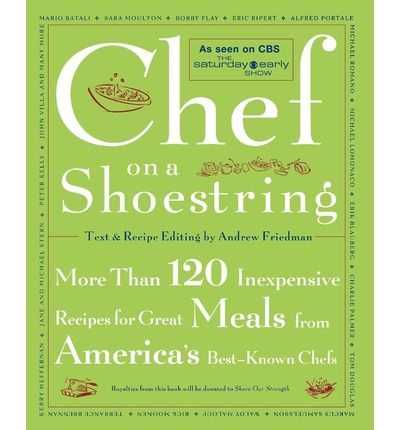 Chef on a shoestring andrew friedman 9780743211437 for American regional cuisine book