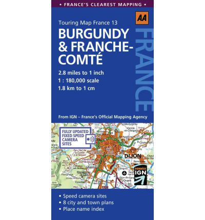 Burgundy and Franche Comte: No. 13
