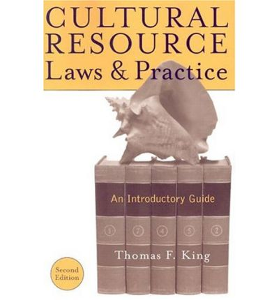 cultural resource laws and practice pdf