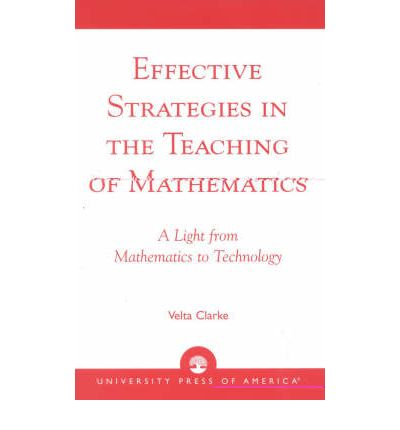 thesis about teaching strategies in mathematics