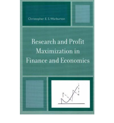 economics and maximization Whatever economics knowledge you demand, these resources and study guides will supply discover simple explanations of macroeconomics and microeconomics concepts to.