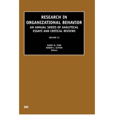 behavior science in organization How does a business organization attract the kind of people it needs how does  it hold them  of organizational behavior behavioral science, 9(2), 131-146.