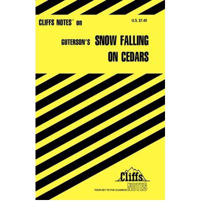 snow falling on cedars book analysis Summary and reviews of snow falling on cedars by david guterson, plus links to a book excerpt from snow falling on cedars and author biography of david guterson.