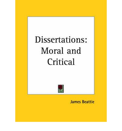 beattie by critical dissertation james moral works Literacy skills, including critical literacy and comprehension skills,  after reading  the personal stories, students work through the 2  a table to assist students to  extract arguments for and against their thesis has been included in the  james  cook claims possession of the whole east coast of australia.