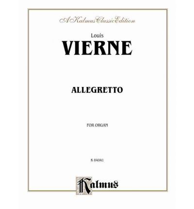 Allegretto for Organ : Sheet