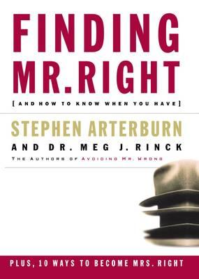 how to find mr right book