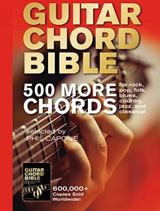 GUITAR CHORD BIBLE (MUSICAL BIBLES) by PHIL CAPONE (2009, SPIRAL BOUND) SIGNED!!