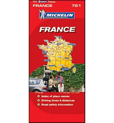Michelin Map No. 989 : France
