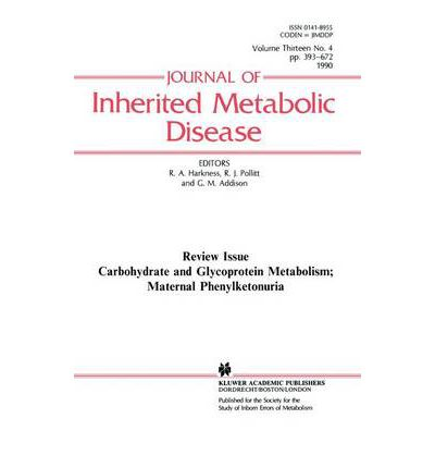 Carbohydrate and Glycoprotein Metabolism; Maternal Phenylketonuria