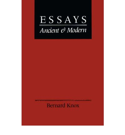 essays ancient and modern ts elliot