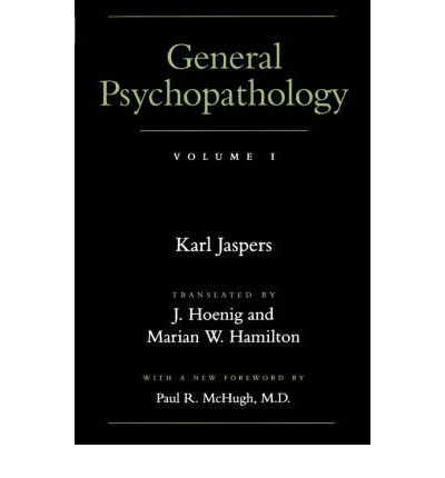 General Psychopathology: v. 1