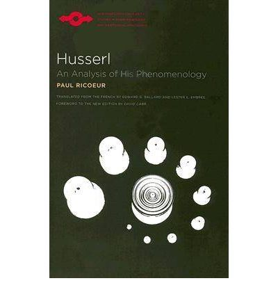 Phenomenology - Edmund Husserl