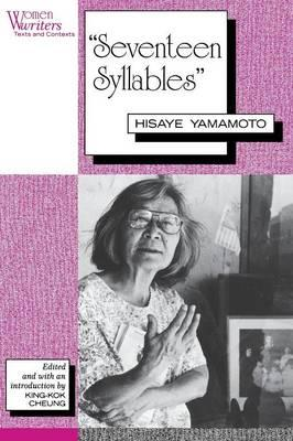 Seventeen Syllables By The Author Hisaye Yamamotos English Literature Essay