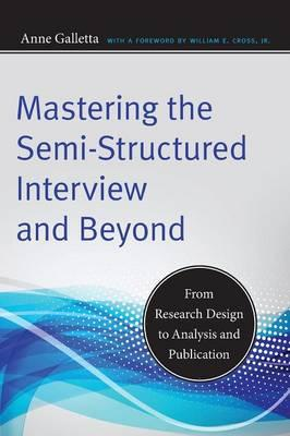 Semi structured interviews in research