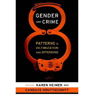 an analysis of crime and gender Of federal criminal sentencing guidelines  required that males and females who commit the same crime  an economic analysis of federal criminal sentencing.