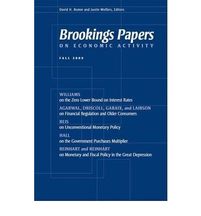 brookings papers on economic activity spring 2013 The disappointing recovery of output after 2009 (with john g fernald, robert e hall, and james h stock), brookings papers on economic activity, spring 2017 download paper (pdf) download appendix (pdf.
