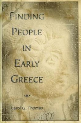 Finding People in Early Greece
