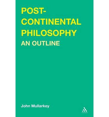 Post-continental Philosophy