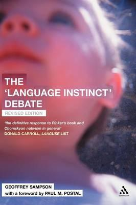 is language an instinct This one-page guide includes a plot summary and brief analysis of the language instinct by steven pinker the  the language instinct summary.