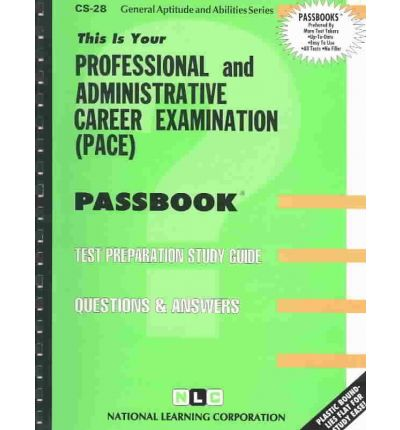 Professional and Administrative Career Examination (Pace)