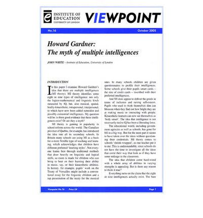 What is Intelligence and How is it Measured?