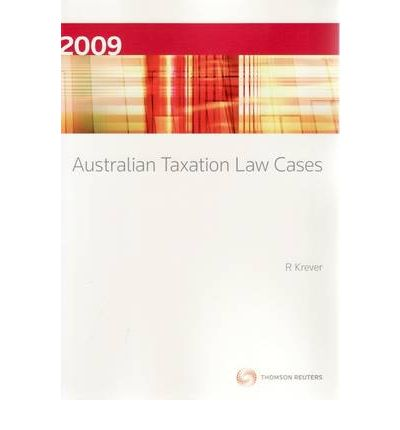 Australian Taxation Law 2018