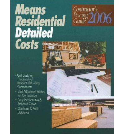 Means Residential Detailed Costs