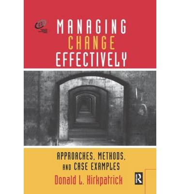 methods for managing change 6 steps to effective organizational change management most organizations today are in a constant state of flux as they respond to the fast-moving external business environment, local and global economies, and technological advancement.
